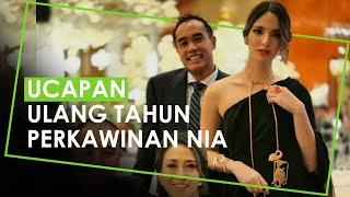 Nia Ramadhani Rayakan Ulang Tahun Perkawinan ke-10, Jessica Iskandar Kirimkan Video Ucapan Selamat