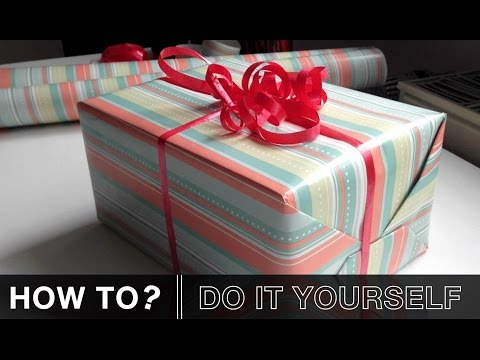 Geschenk einpacken | How To?