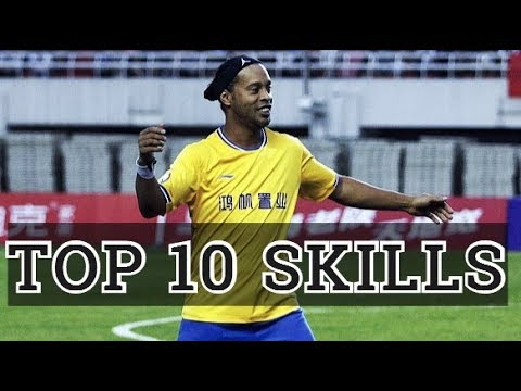 RONALDINHO TOP 10 SKILLS That You Never Seen !!