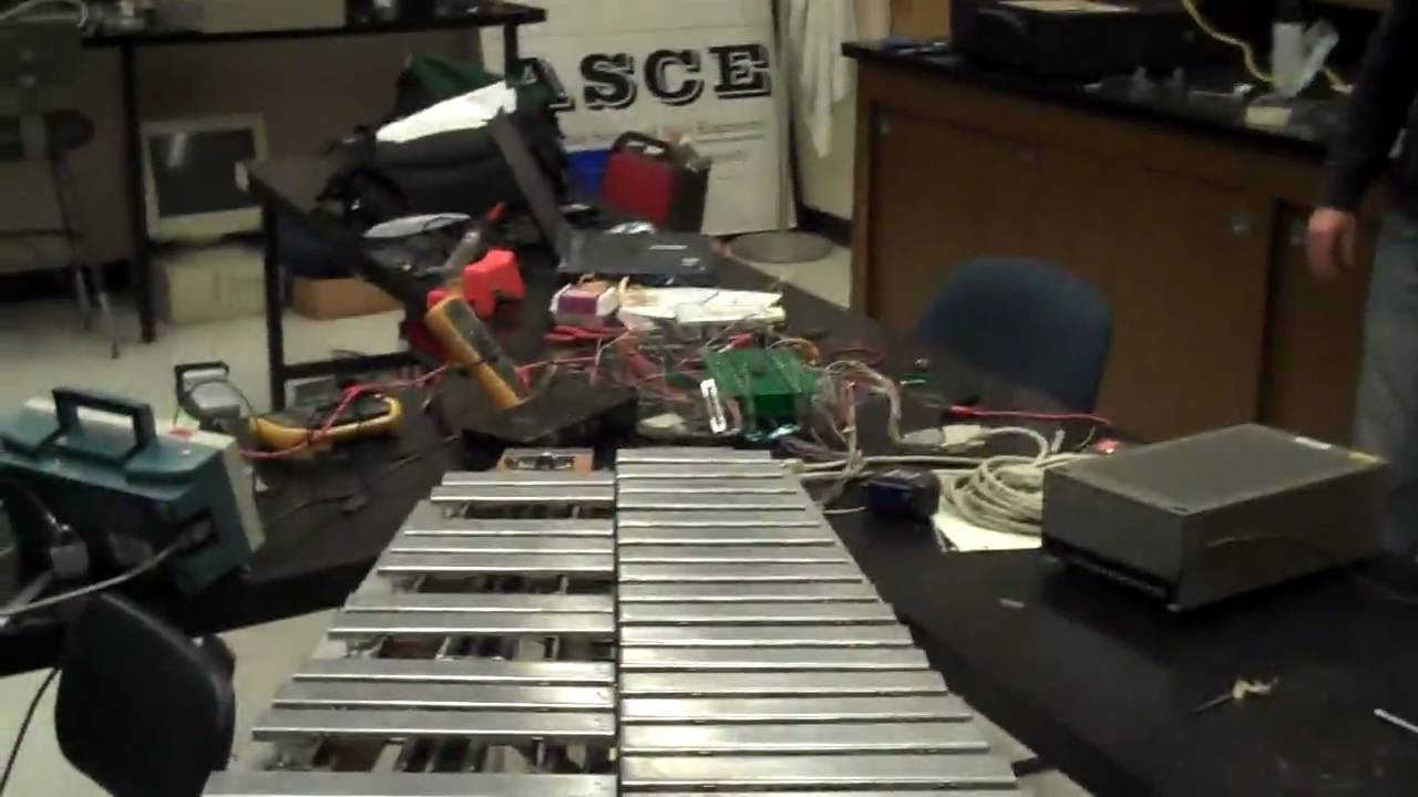 "Marv The Vibraphone Robot Plays ""Flight Of The Bumblebee"". Fast"