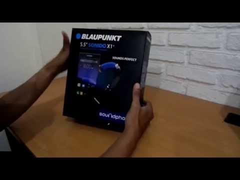 Unboxing Blaupunkt Soundphone Sonido X1+