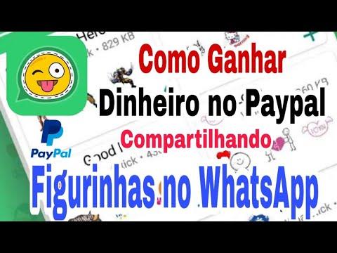 Ganhar Dinheiro no Paypal Compartilhando Figurinhas no WhatsApp - Whatstick