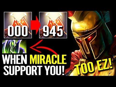 +950 Dmg Legion Commander Got attention Form Miracle Rubick Support 10k Match Dota 2