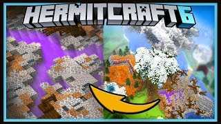 Hermitcraft Season 6: Creating The Halloween Biome!  (Minecraft 1.13.1 survival  Ep.24)
