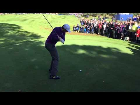 Rory McIlroy – 11th Tee – Ryder Cup 2014 – Wed 24 Sept 2014