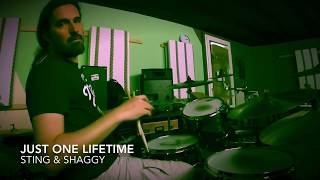 Sting & Shaggy/Just One Lifetime/Drum Cover By Flob234