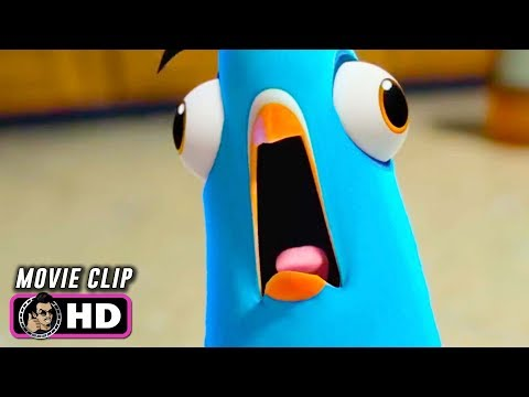 SPIES IN DISGUISE Clip - Lance Transforms (2019) Will Smith