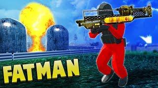 NUKE Launcher!  Ravenfields NEW Fallout 4 Fat Man & Paintball (Ravenfield Beta Gameplay)