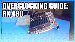 AMD RX 480 Overclocking Guide / Tutorial