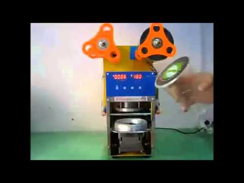 Maquina selladora automatica de vasos