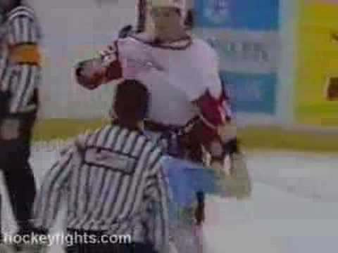 Bob Probert vs. Marty McSorley