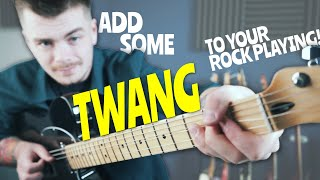 How To Sound COUNTRY (When Youre A Rock Guitarist...)