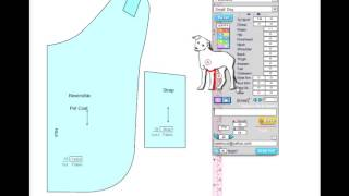 How To Sewing Pet Clothing & Measuring Your Dog Sizes In Designer For Petwear By DesignSew