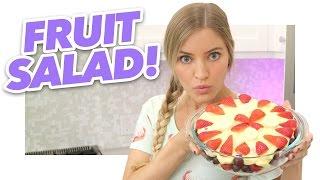 How To Make a Fruit Salad | iJustine