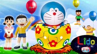 Doraemon Egg Surprise Toys ☘ Doremon Surprise Eggs With Balloons☘ LIDO TV Egg Surprise Videos