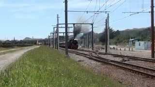preview picture of video 'Ja 1271 Family Express steam train Porirua 30 Nov 2014'