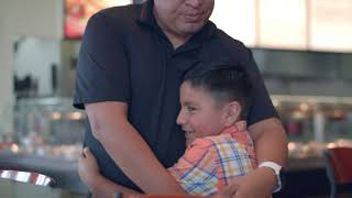 How donations helped Javier and Alexis