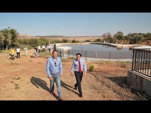 Miguel Ángel Gallardo visita Alconera