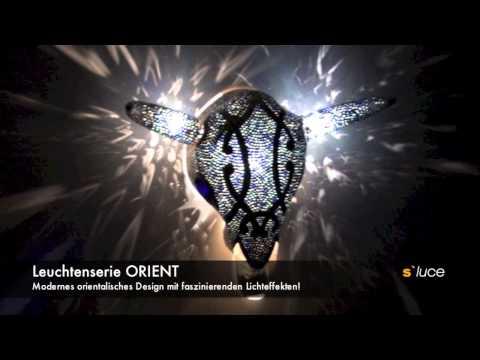 s`luce ORIENT Leuchtenserie