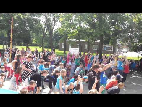 Flashmob De Schelven Boxmeer