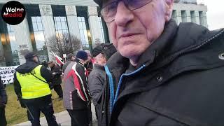 2020-01-11 Kontrmanifestacja do marszu tysiąca tóg