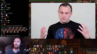 """Asmongold Reacts to """"Blizzard Explains the Entire History of World of Warcraft"""""""