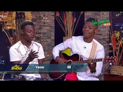 TROD AND G6 PERFORM LIVE WITH GUITAR - THE NIGHT SHOW
