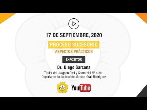 PROCESOS SUCESORIOS, ASPECTOS PRÁCTICOS - 17 de Septiembre 2020