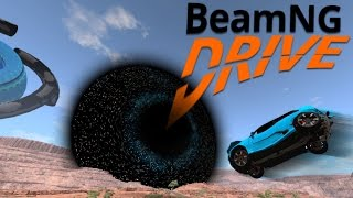BeamNG Drive - The BeamNG Black Hole - Destroyer Of Cars - BeamNG.Drive Gameplay Highlights
