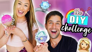 THE DIY CHALLENGE 11: LaurDIY vs. JOSH PECK