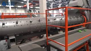 Beier machinery 1.5t 1500 kg pet washing line for europ
