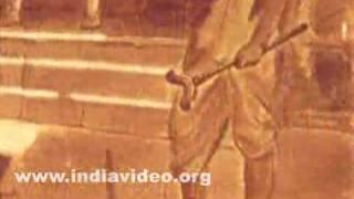 Sri Rama Breaks the Bow by Raja Ravi Varma