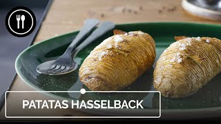 Cómo hacer patatas hasselback, la guarnición más fácil y resultona