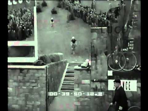 Il mondiale di Ciclo-cross a Crenna di Gallarate, nel 1954