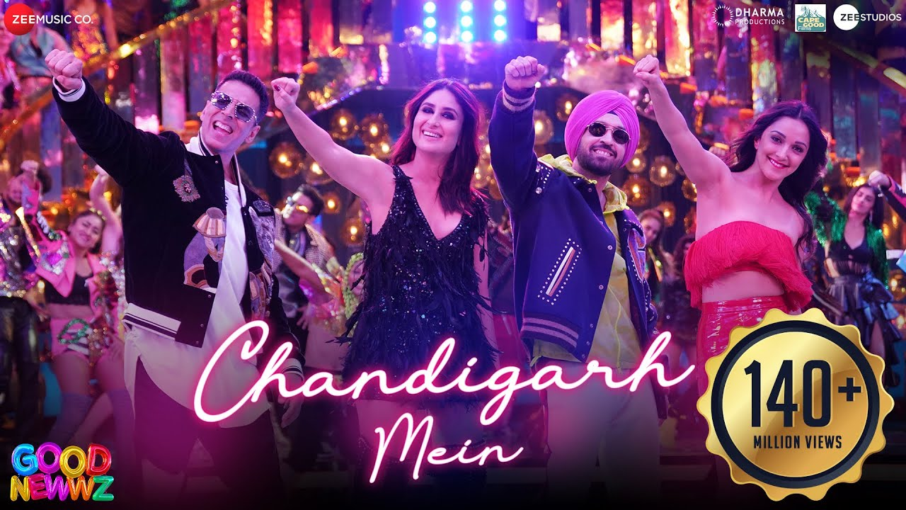 चंडीगढ़ में - Chandigarh Mein Lyrics in Hindi - Good Newwz - Badshah, Harrdy Sandhu, Lisa Mishra, Asees Kaur