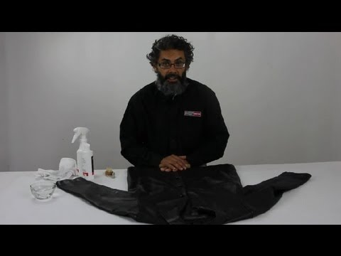 Video How to Take Care of a Leather Coat : Leather Care