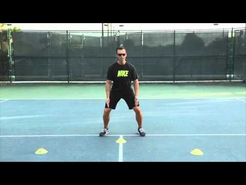 Exercise thumbnail image for Volley Split Step Footwork