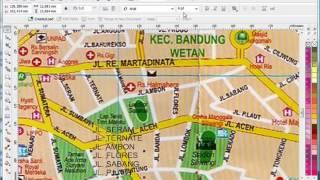 coreldrawfuzziblog: Cara Membuat Peta Desa Dengan Coreldraw