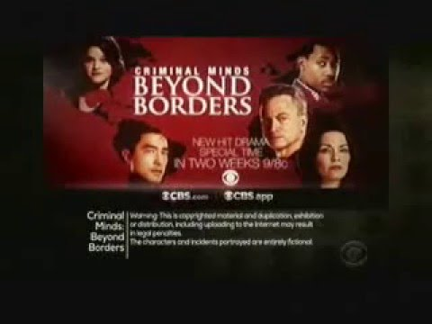 Criminal Minds: Beyond Borders 1.12 - 1.13 (Preview)