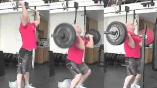 CrossFit - Thruster tri-panel Demo