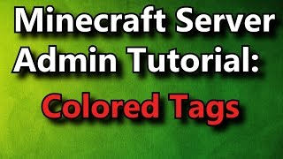 Minecraft Bukkit Plugin Colored Tab List Color Names In The Tab - Minecraft farbige namen andern
