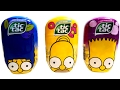 New Tic Tac Surprise The Simpsons Toys Homer Marge Bart