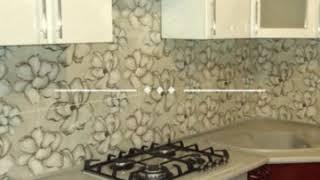 Кухня фото № 22 фасад постформинг цвет белая - бордовая. от компании Фаберме - видео 2