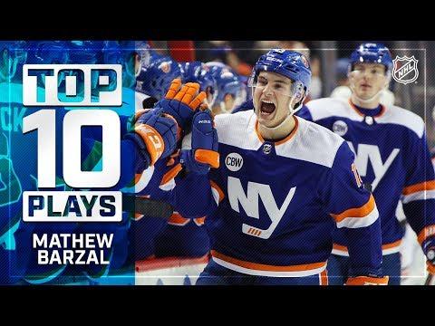 Top 10 Mathew Barzal plays from 2018-19