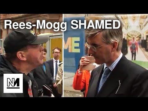 Jacob Rees-Mogg SHAMED By Disabled Man