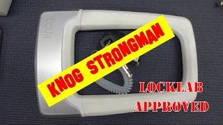 (1280) Review: Knog Strongman Bike Lock (Nice!)
