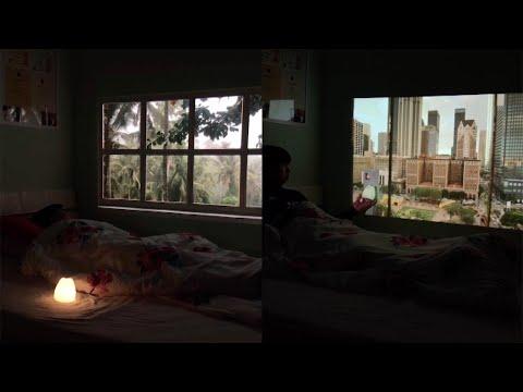 מדהים: כך ניתן ליצור נופים בחלון • צפו