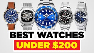 Top 20 Watches Under $200 (2020 Edition!)
