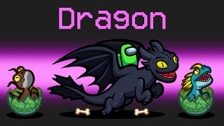 HOW To TRAIN YOUR DRAGON Mod in Among Us