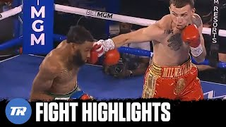 Top prospect Javier Martinez shines in pro debut, beating Jonathan Burrs | FULL FIGHT HIGHLIGHTS